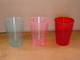 7 oz color drinking cups