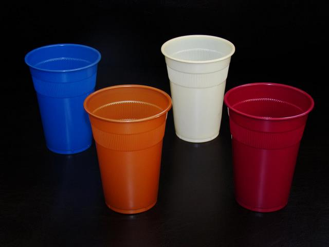 PP colored cups
