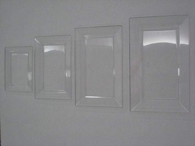 4 Rectangular plates & Plastic Plates u2013 Rectangular (Injection Molding)